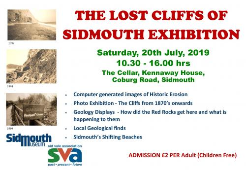 The Lost Cliffs of Sidmouth Exhibition