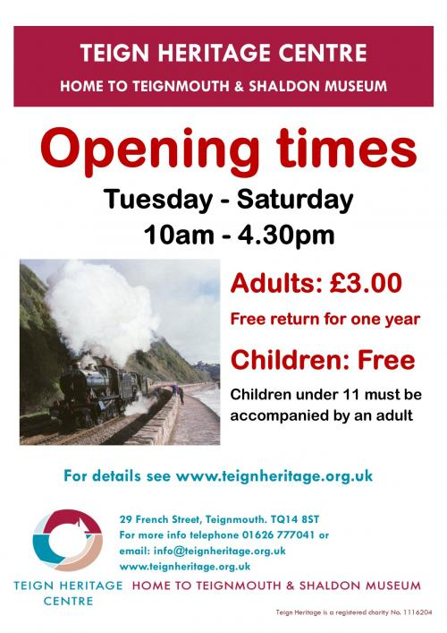 Teign Heritage is open for the Season!