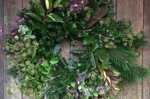 Traditional Christmas Wreath Making Workshops with Amanda Randell Cox
