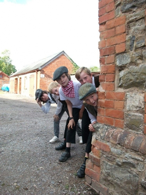 Burrington School pupils enjoy a Victorian experience!