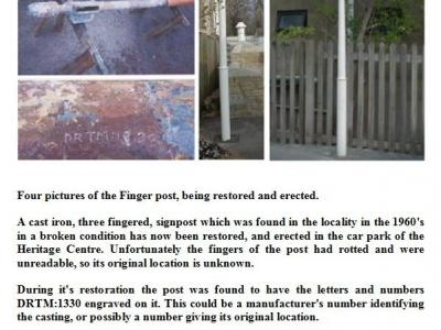 News about Collection Item 04, 3 Fingered Sign Post
