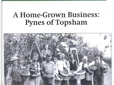 Market Gardening in Topsham:  new booklets available