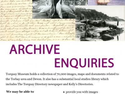 Torquay Museum Launch Archive Enquiry Service