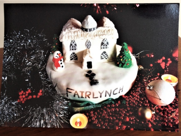 Buy the Fairlynch Christmas Cards   and win the cake!
