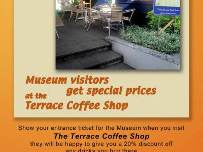 SPECIAL DISCOUNT for MUSEUM VISITORS