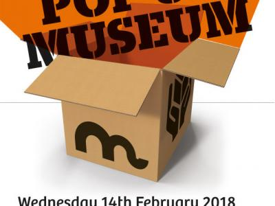 Our Pop up Museum is launching!