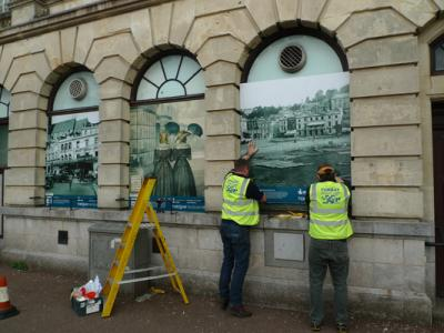 Windows in Time Hits the Streets of Torbay