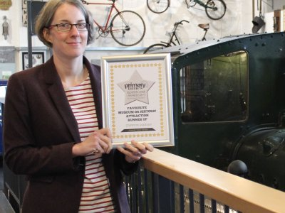Tiverton Museum wins runner up award in Primary Times Reader Star Awards