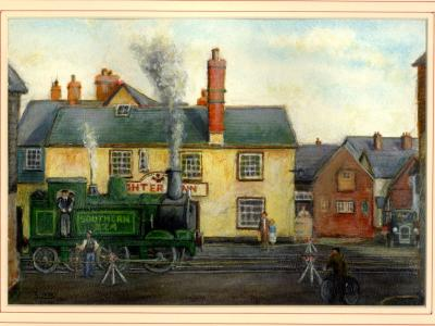 Topsham's Tank Engine