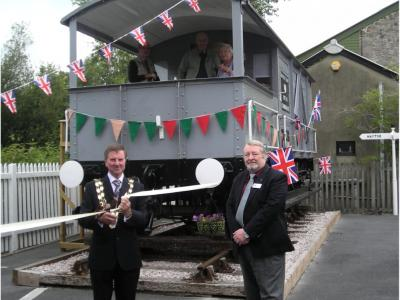 Grand Opening of the 'Toad' GWR Brake Van