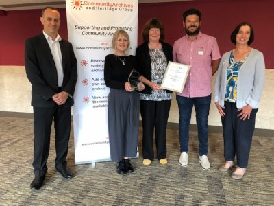 Box supported project wins two national awards