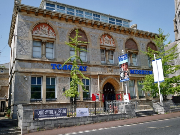The National Lottery provides support to help Torquay Museum reopen