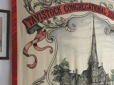 Sunday School Banner Comes To Tavistock Museum