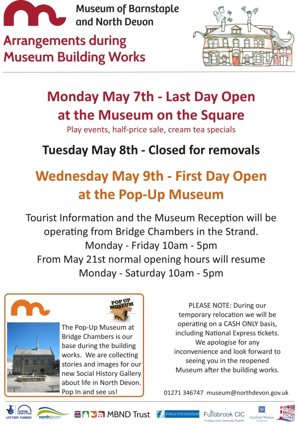 Museum Closing Information