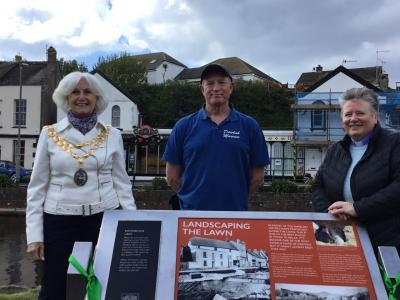 Heritage Trail opens in Dawlish