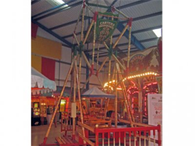 Oldest Ride features at Fairground Heritage Centre