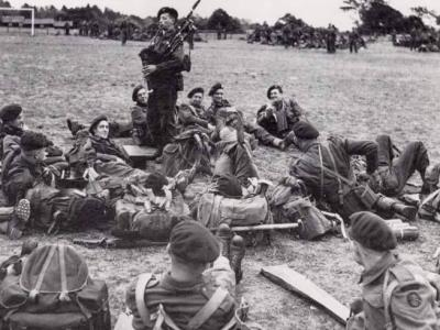 The D Day Bagpipes