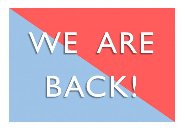 We're Reopening again!