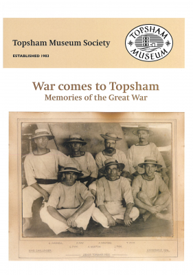 War Comes to Topsham:  Memories of the Great War product photo