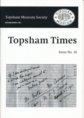 Topsham Times, Issue 16, 2013 product photo