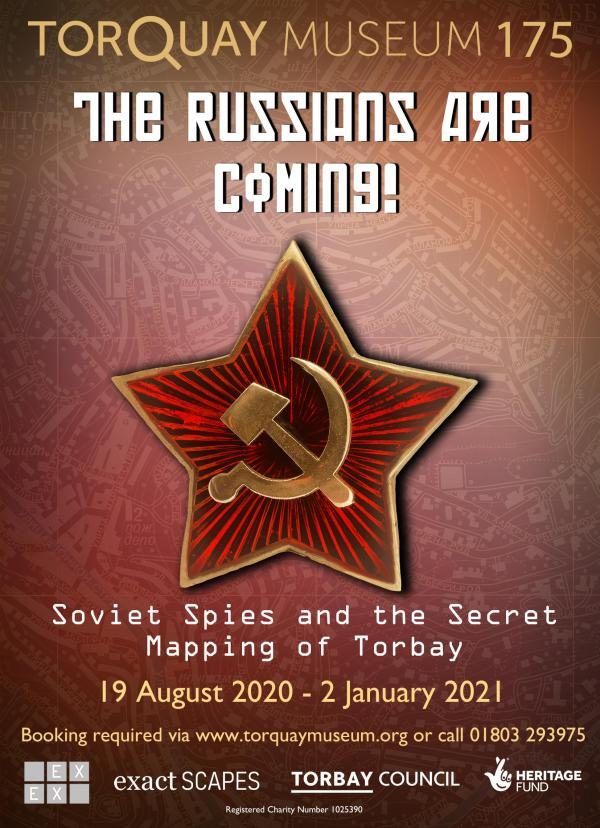 The Russians Are Coming! Soviet Spies and the Secret Mapping of Torbay