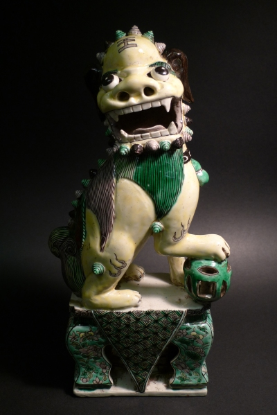 Chinese Guardian Lion, Kangxi period (1661-1722)