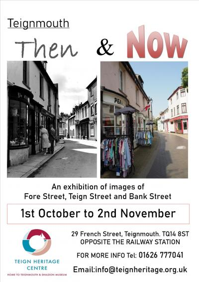 Teignmouth Then and Now